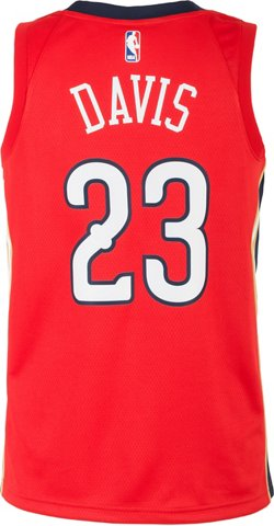 Nike Men's New Orleans Pelicans Anthony Davis Icon Edition Swingman Jersey