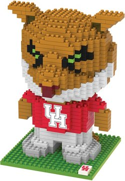 Forever Collectibles University of Houston 3-D BRXLZ Mascot Puzzle