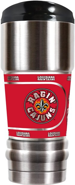 Great American Products University of Louisiana at Lafayette MVP 18 oz Travel Tumbler