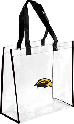 Forever Collectibles University of Southern Mississippi Clear Reusable Bag