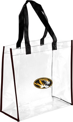 Forever Collectibles University of Missouri Clear Reusable Bag