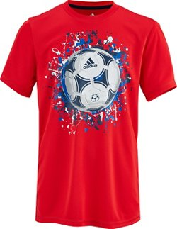 adidas Toddler Boys' 2T - 4T climalite USA T-shirt