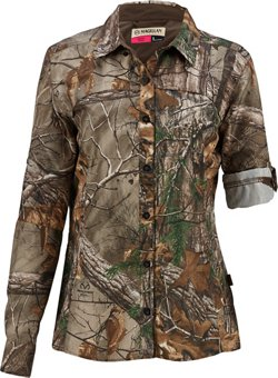 Magellan Outdoors Women's Eagle Pass Deluxe Long Sleeve Shirt