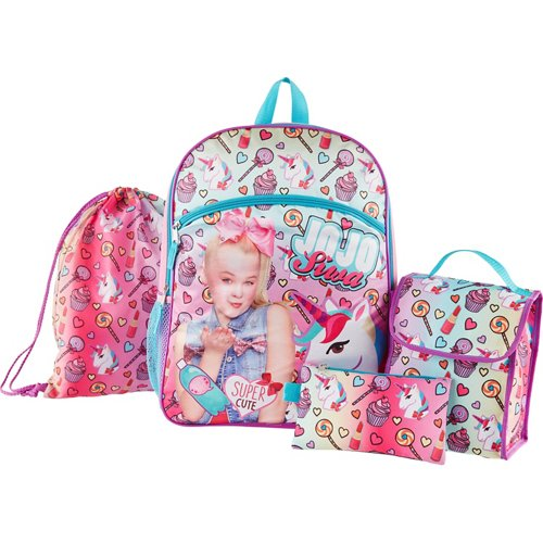 JoJo Siwa Kids' 16 in Backpack with Lunch Kit