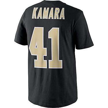super popular 0e00b 525fd Nike Men's New Orleans Saints Alvin Kamara Name and Number T-shirt