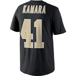 Men's New Orleans Saints Alvin Kamara Name and Number T-shirt