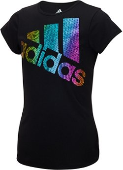 adidas Toddler Girls' climalite Colors Ignite T-shirt
