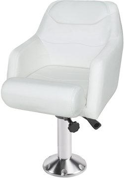 Deluxe Bolster Bucket Seat with Fixed Pedestal