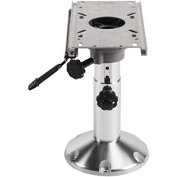 Adjustable Height Pedestal with Seat Slide