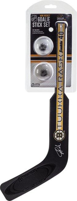 Franklin Boston Bruins Tuukka Rask Mini Hockey Goalie Stick and Ball Set