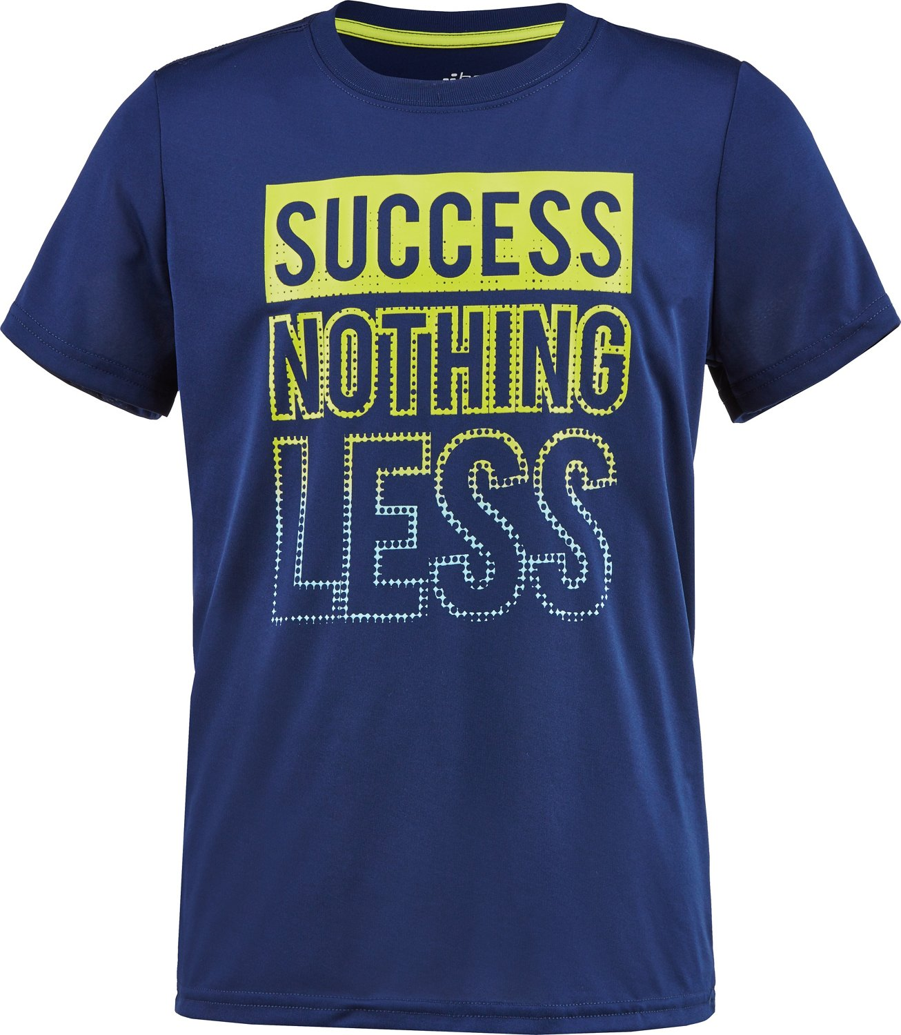 BCG Boys' Success Nothing Less Short Sleeve T-shirt - view number 3