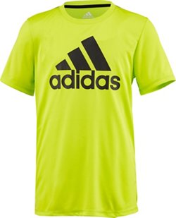 adidas Boys' climalite Badge of Sport T-shirt