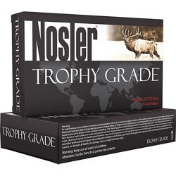 Trophy Grade .28 Nosler 160-Grain Centerfire Rifle Ammunition