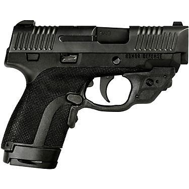 Honor Defense Subcompact 9mm Pistol with Crimson Trace Laserguard