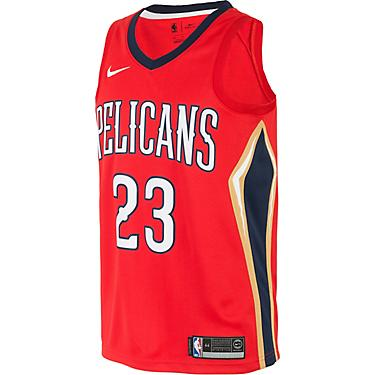 new style b7d97 70f88 Nike Men's New Orleans Pelicans Anthony Davis Icon Edition Swingman Jersey