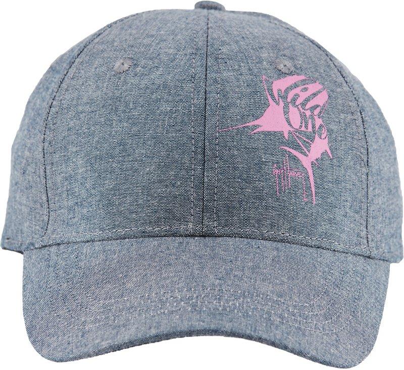 Guy Harvey Women's Wilder Cap (Denim Chambray, Size One Size) - Men's Outdoor Apparel, Men's Hunting/Fishing Headwear at Academy Sports thumbnail