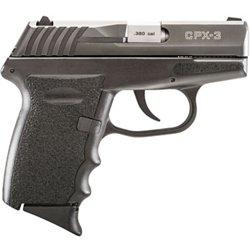 CPX-3 Carbon Black .380 ACP Pistol