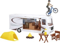New-Ray Toys Xtreme Adventure Caravan Play Set