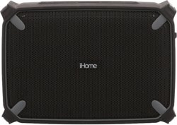 iHome Portable Waterproof Stereo Speakers with Accent Light