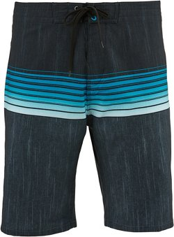 O'Rageous Men's Stretch Printed Boardshorts