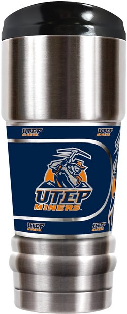 Great American Products University of Texas at El Paso MVP 18 oz Travel Tumbler