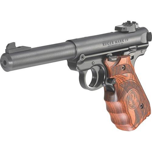 Ruger Mark IV Target .22 LR Pistol