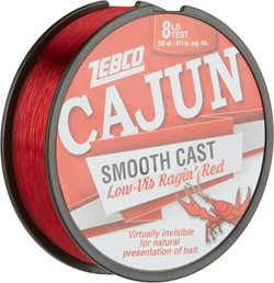 Zebco Cajun 330 yds Low-Vis Ragin' Red Fishing Line