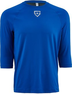Men's Heater 3/4 Sleeve Baseball Shirt