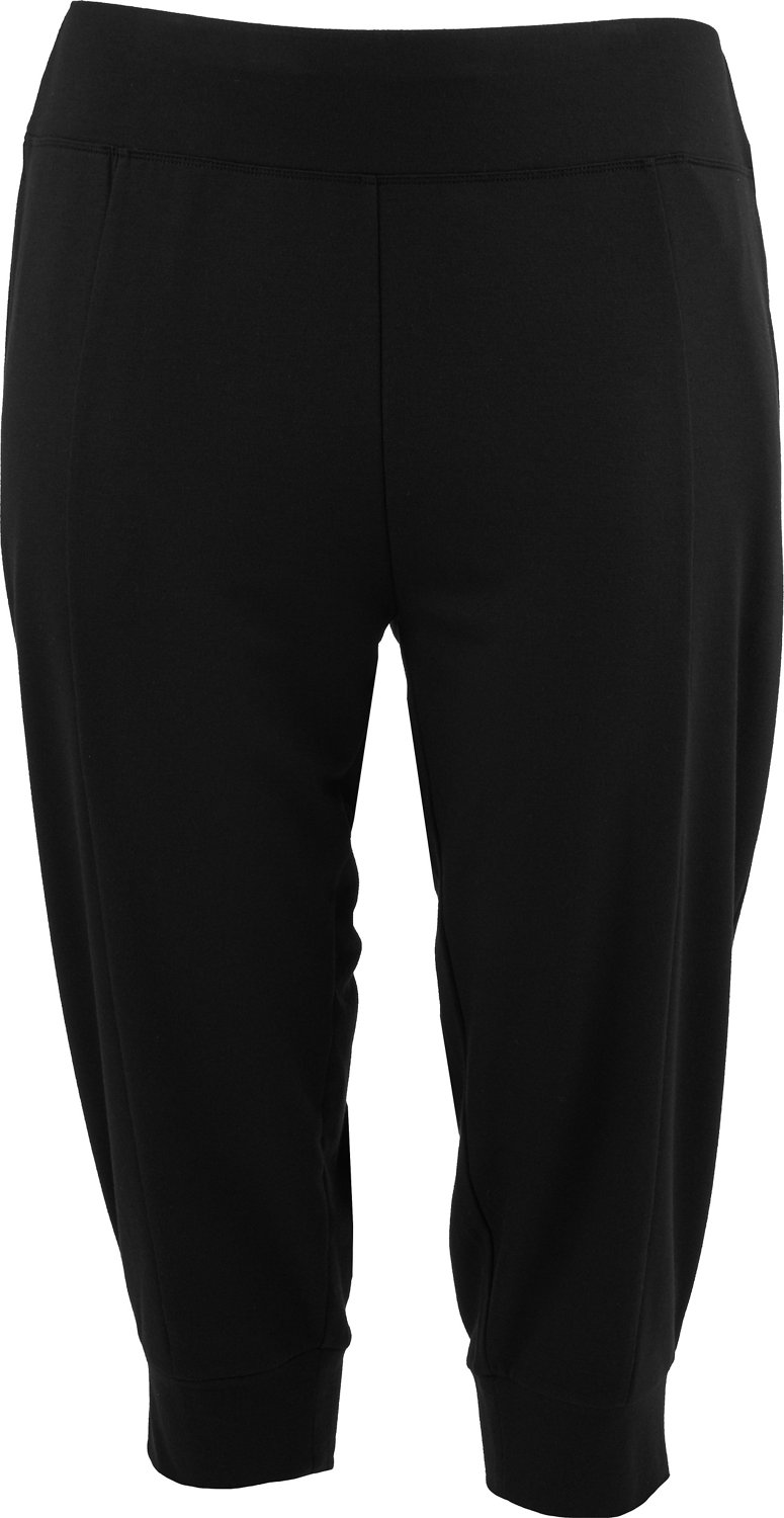 f29180949a414 Display product reviews for BCG Women's French Terry Plus Size Jogger Capri  Pants