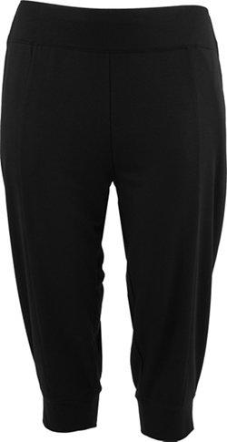 BCG Women's French Terry Plus Size Jogger Capri Pants
