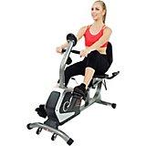 Sunny Health & Fitness Easy Adjustable Seat Recumbent Bike