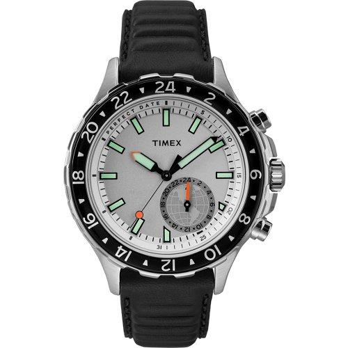 Timex Men's IQ+ Move Multi-Time Zone Full-Size Watch