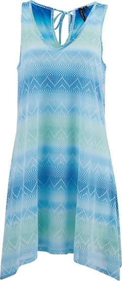 Porto Cruz Ombre Sharkbite Cover-Up Dress