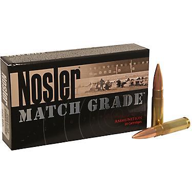Nosler Match Grade Custom Competition 7 62 x 35mm 220-Grain Centerfire  Rifle Ammunition