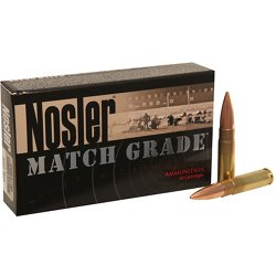 Match Grade Custom Competition 7.62 x 35mm 220-Grain Centerfire Rifle Ammunition