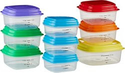 Fit & Fresh Meal Management Portion Control Container Set