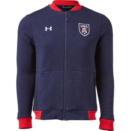 Under Armour Mens USA Bomber Jacket