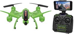 World Tech Toys Orion Glow-In-The-Dark 2.4 GHz 4.5-Channel Live Feed RC Camera Drone
