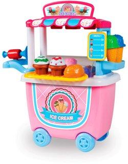 World Tech Toys 14-Piece Ice Cream Cart Playset