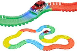 World Tech Toys Glow-In-The-Dark Flex-Track Set