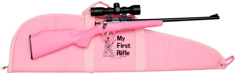 Crickett Youth Single Shot Synthetic .22 LR Bolt-Action Rifle Package - Rimfire Rifles at Academy Sports thumbnail