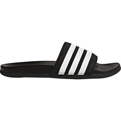 ... adidas Men s Adilette Cloudfoam Plus Stripes Slides. Men s Sports Slides.  Hover Click to enlarge e585086a366bc