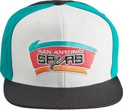 Mitchell & Ness Men's San Antonio Spurs Color Break Snapback Cap