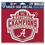 WinCraft University of Alabama 2017 National Champions Decal