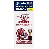 WinCraft University of Alabama 2017 CFP National Champions Perfect Cut Decal