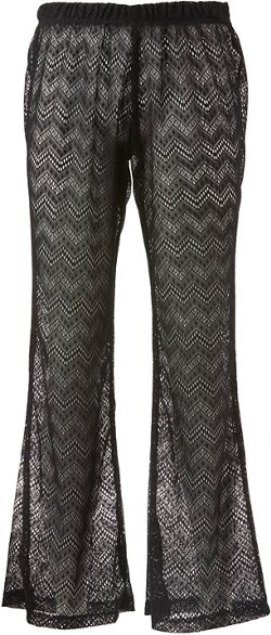 Porto Cruz Women's Crochet Cover-Up Pant
