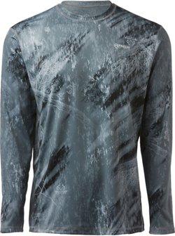 Magellan Outdoors Men's Realtree Fishing CoolCore Reversible Long Sleeve T-shirt