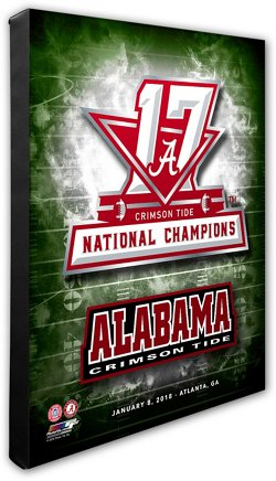 University of Alabama 16x20 Canvas