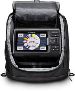 Garmin STRIKER Plus 5 Sonar/GPS Fishfinder Ice Fishing Combo