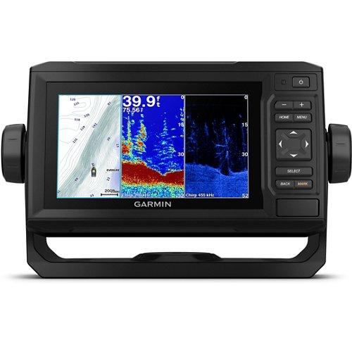 Garmin ECHOMAP Plus 63cv Sonar/GPS Chartplotter Combo